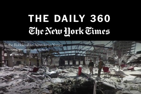 """The New York Times Introduces """"The Daily 360"""""""