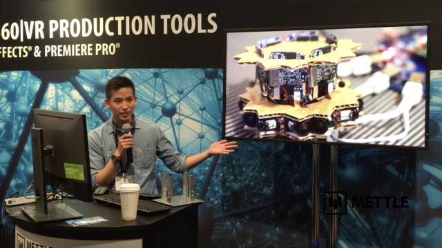 360 Camera Arrays for Virtual Reality: Realtime Stitching and Livestreaming | Tobias Chen