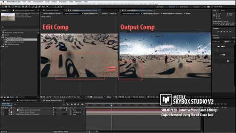SkyBox Studio Version 2   Object Removal with SkyBox Composer