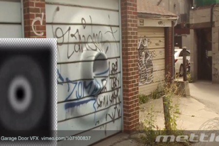 How To Dent a Garage Door VFX