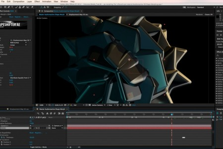 Tutorial: Audioreactive 3D Shape Morphing in After Effects