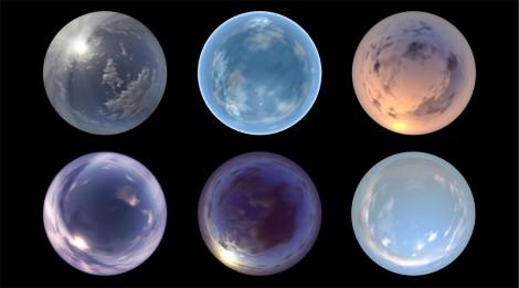 Spherical Clouds 1