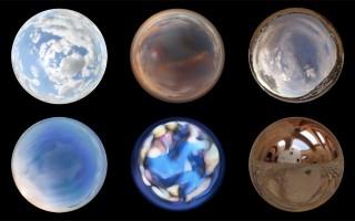 Spherical Clouds 3
