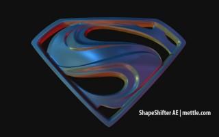 Superman Color via 3D lights: Free Project File