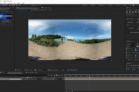 How to Track a 360° Scene in After Effects | SkyBox Studio V2