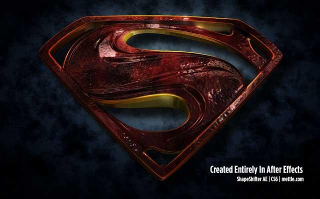 3d Morphing Superman Logo Tutorial By Maltaannon Mettle