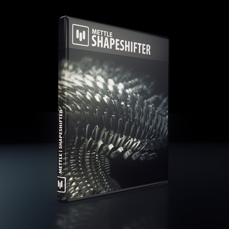 Mettle ShapeShifter Mac 破解版 3D徽标动画AE插件