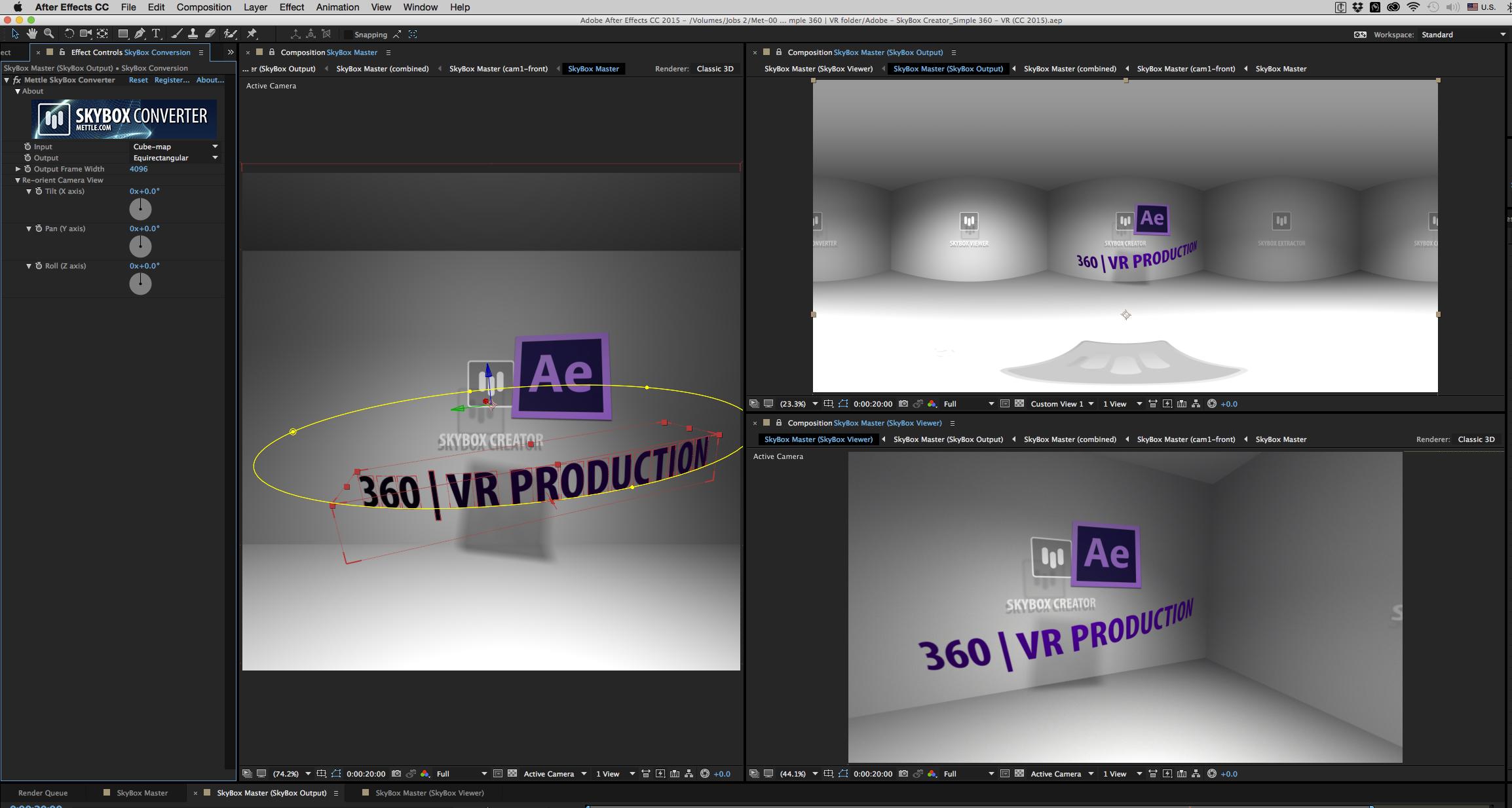 Mettle SkyBox Studio-MEC-360-VR Room