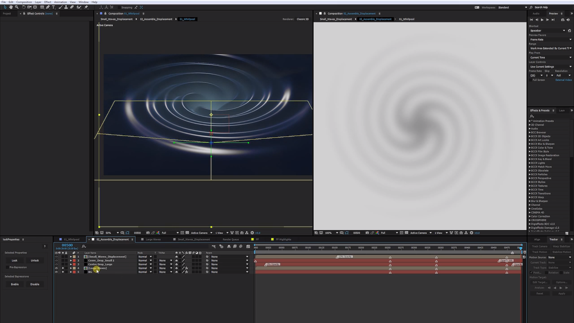 FreeForm Pro | Whirlpool Tutorial | After Effects | Mettle