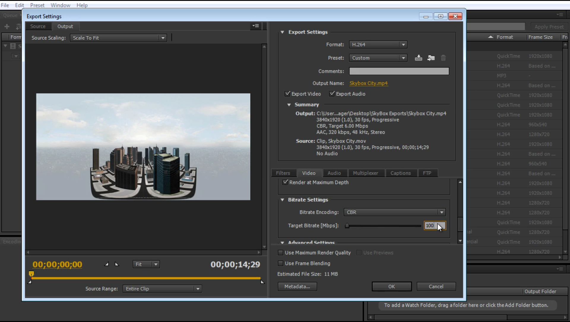 How to Use Adobe Media Encoder + Youtube Metadata Tools for