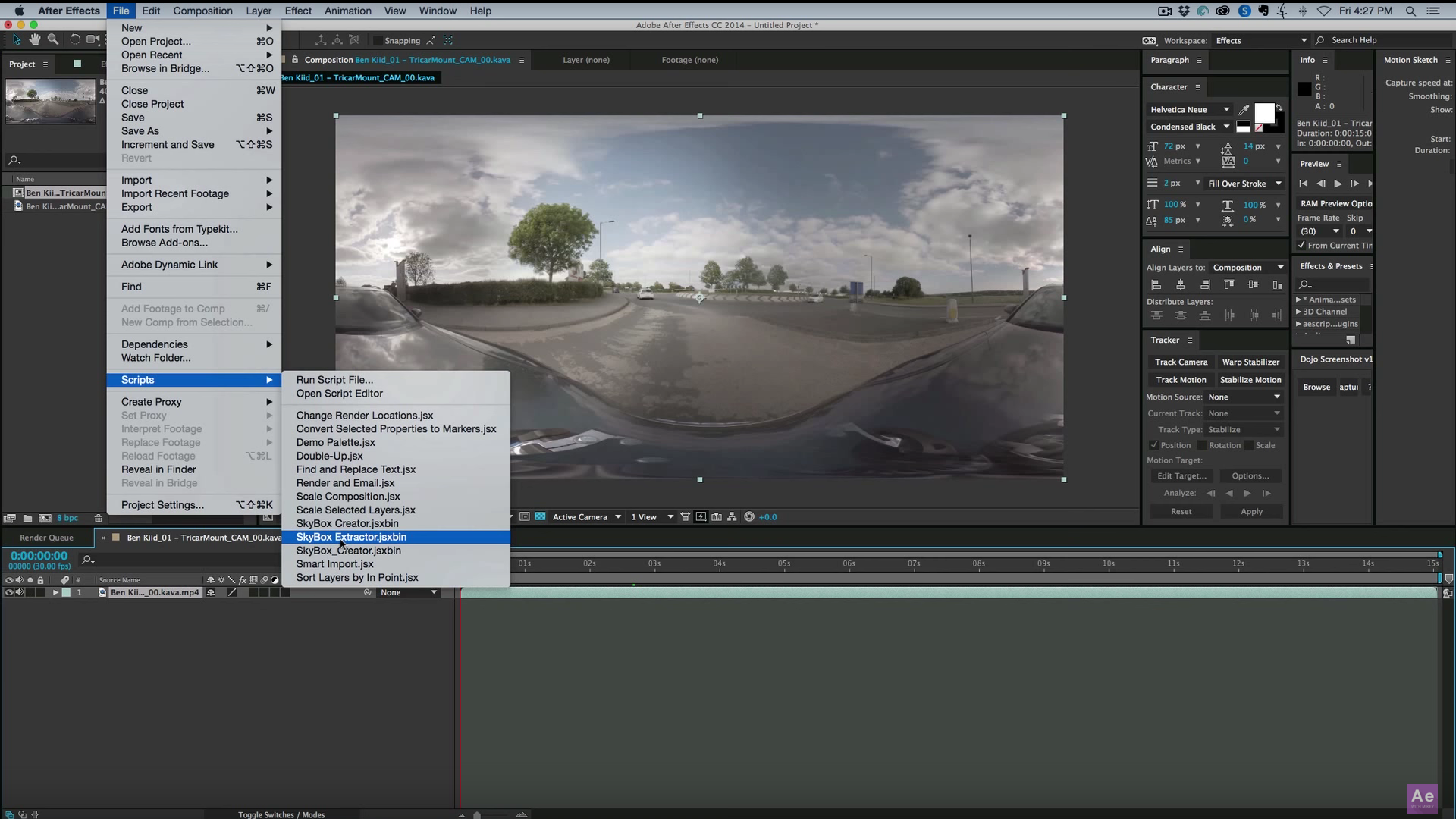 How to 3d camera track 360 footage in after effects skybox how to 3d camera track with 360 footage in after effects baditri Choice Image