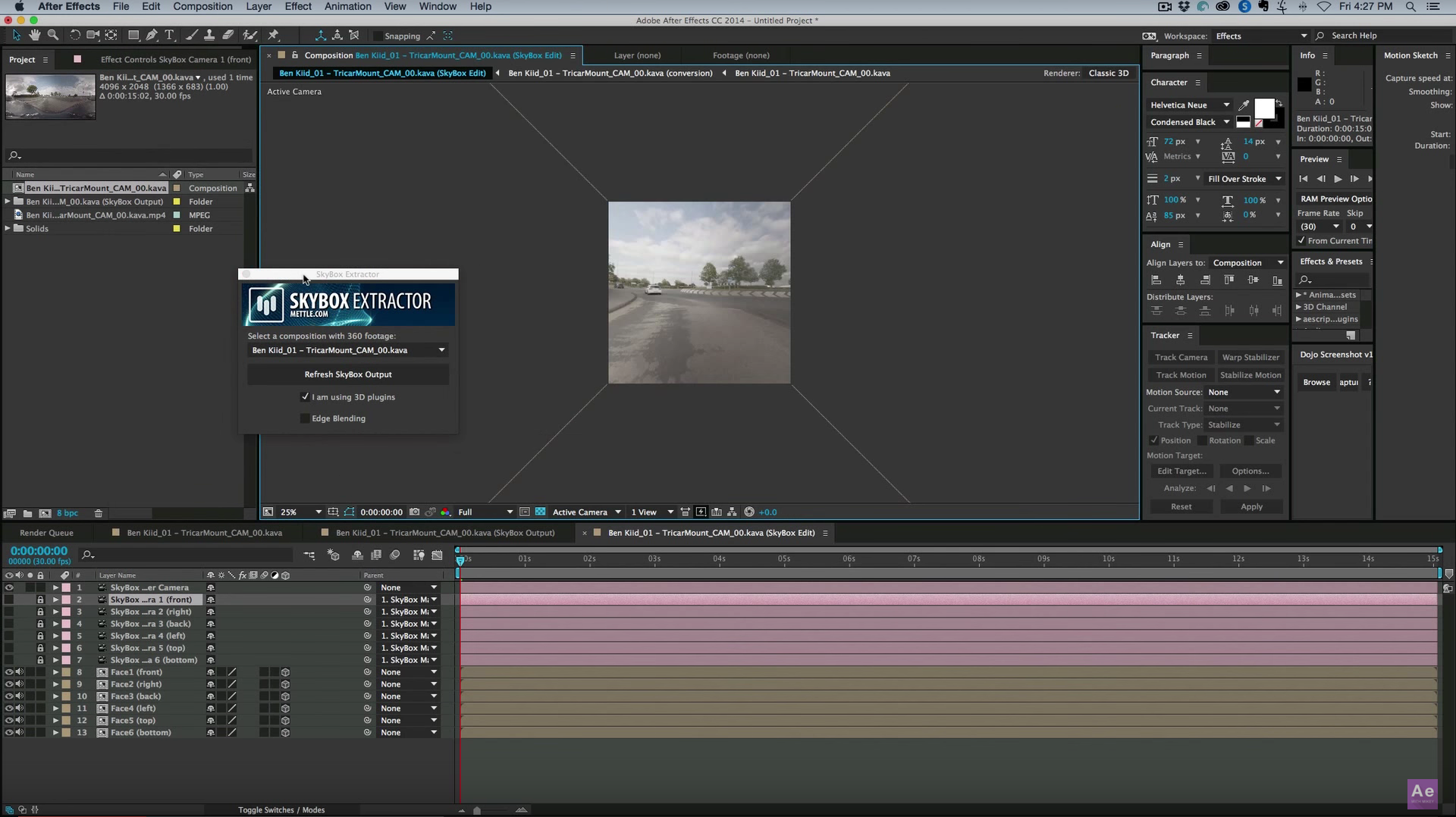 How to 3d camera track 360 footage in after effects skybox how to 3d camera track 360 footage in after effects skybox studio baditri Choice Image