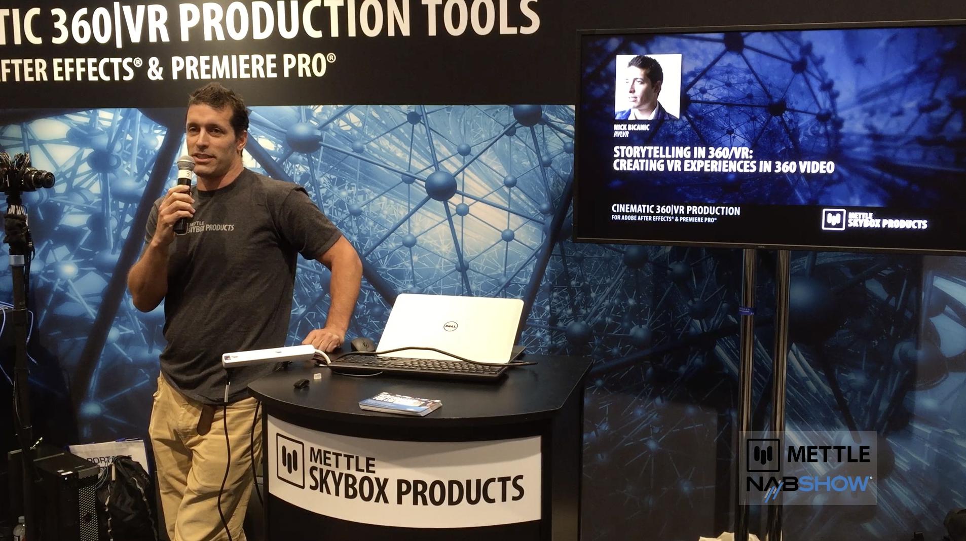 Nick Bicanic Storytelling in VR