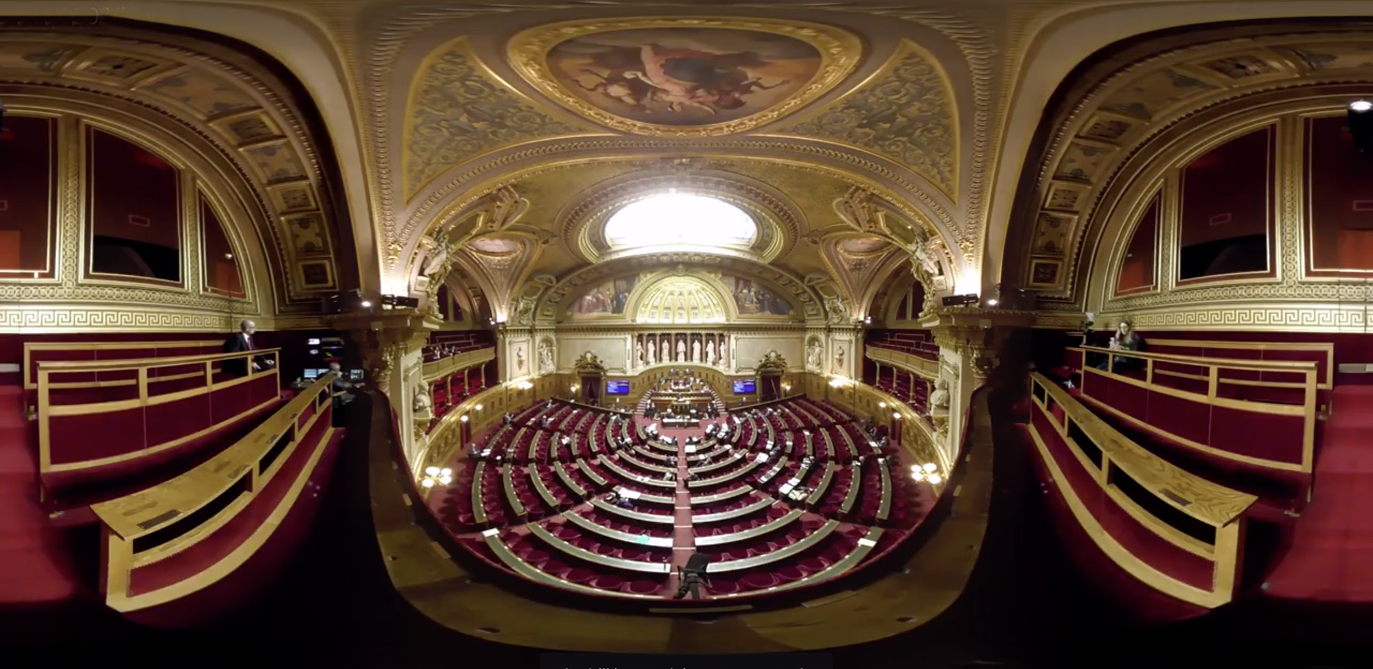 French Senate Targo France Mettle SkyBox Studio and VR Tools