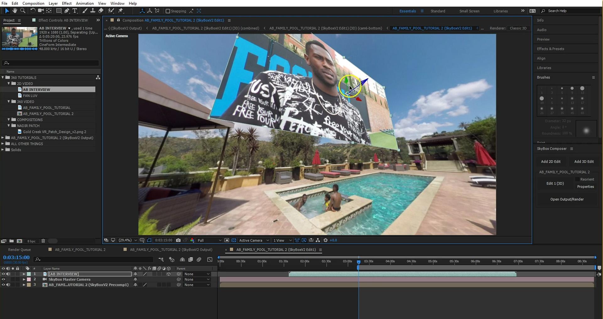 SKyBox Studio V2 Tutorial manipulating 2d asset