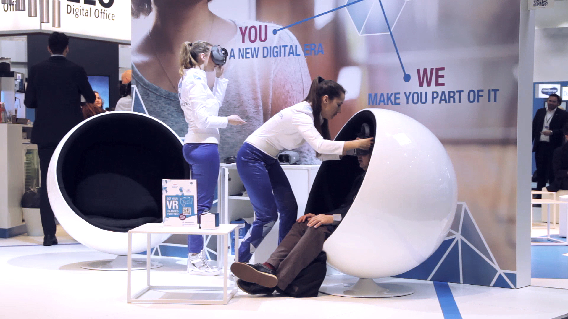 "Workplace of the Future"" VR Experience for Konica Minolta"