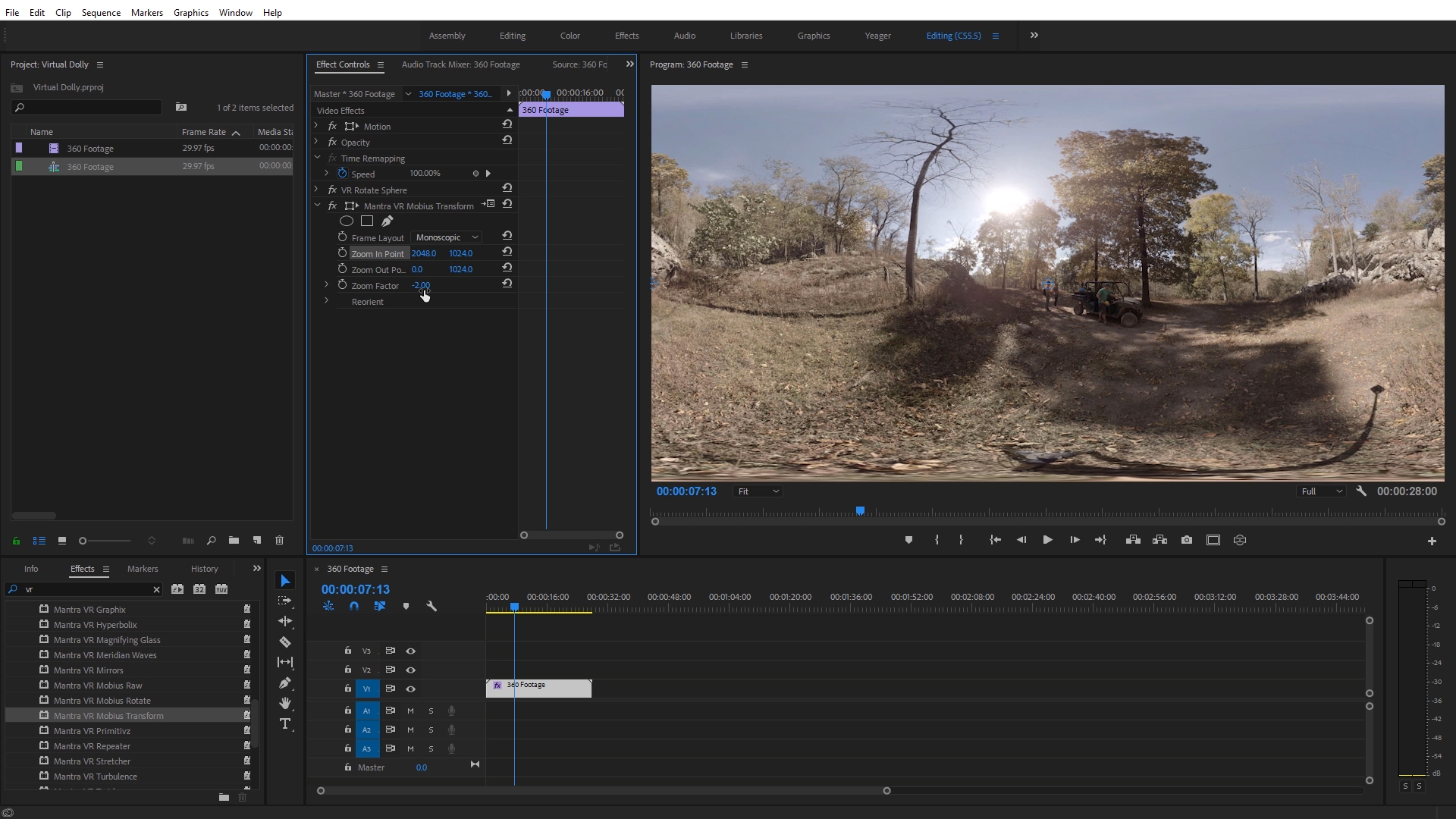 Title Image - Virtual Dolly in Premiere Pro