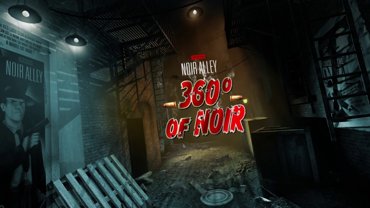 Noir Alley 360 Degrees of Noir
