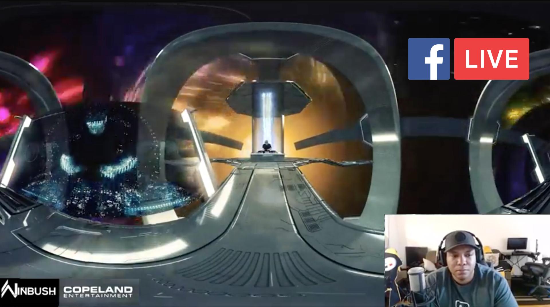 Facebook Live Jonathan Winbush Mantra VR