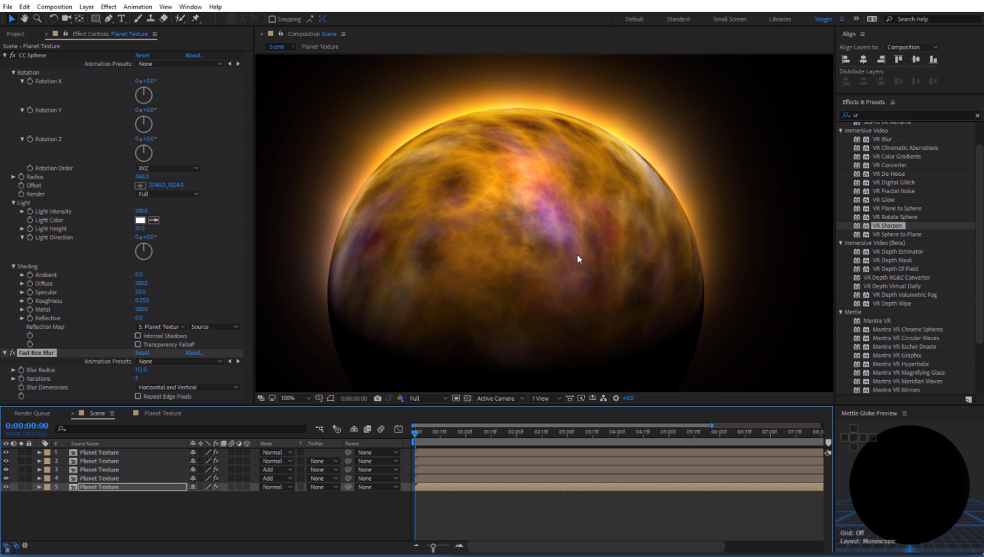 Create Planet textures with Mantra VR featured image