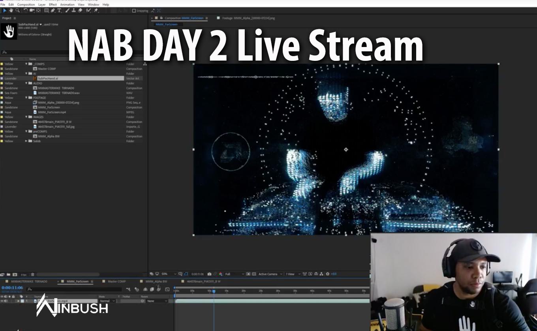 NAB Day 2 MOONBASE INVASION Live Stream Host Jonathan Winbush