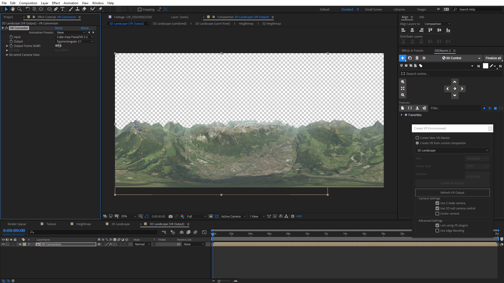 How to Create 360° Videos in Adobe After Effects | Charles