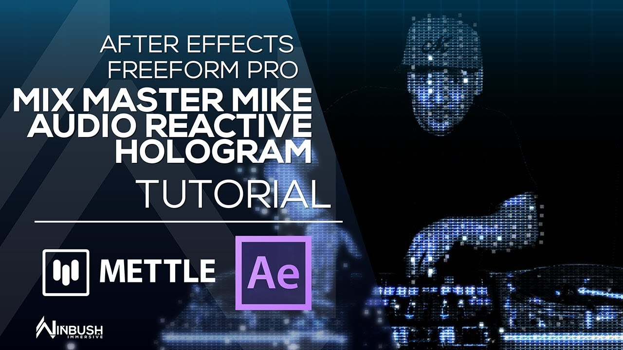 featured image Mix Master Mike and Hologram Effect with FreeForm Pro