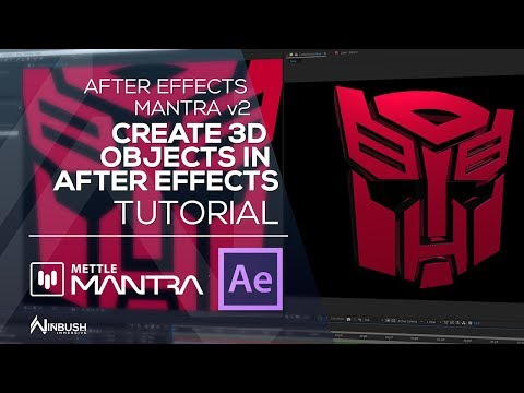 create 3D object in After Effects