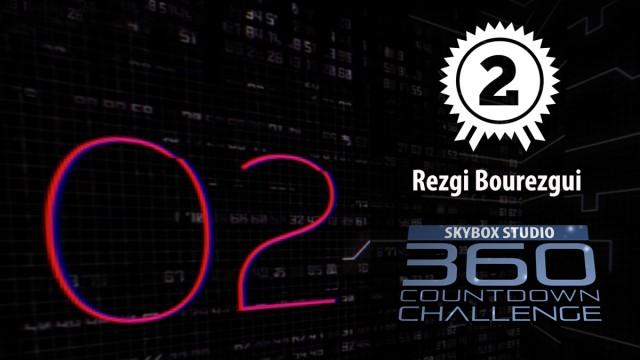 2nd Prize   Rezgi Bourezgui   SkyBox Studio 360 CountDown Challenge