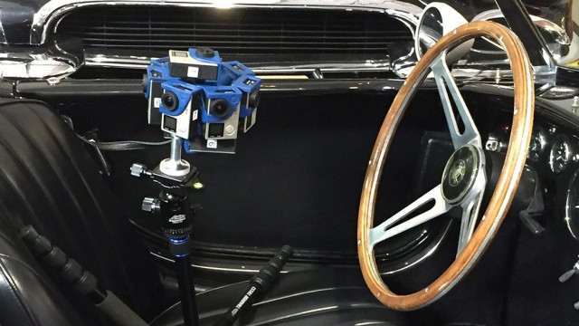 Reggie Jackson's Garage in Virtual Reality | SkyBox Studio | SkyBox 360/VR Tools