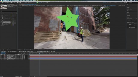 Part 2: How to Add Motion Graphics Onto 360 footage With SkyBox Composer