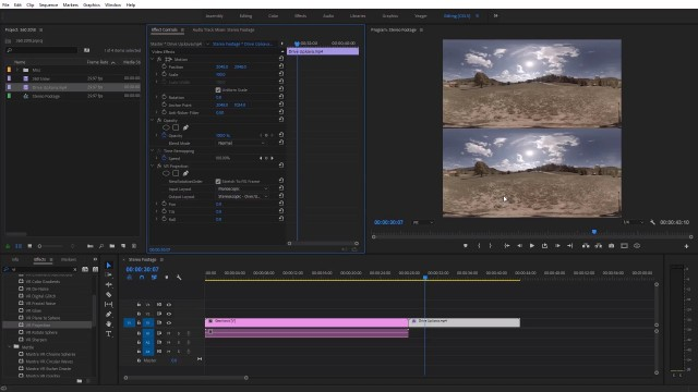 How to Add Mono Footage to Stereo 360° Video | Premiere Pro CC 2018