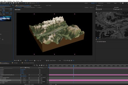 How to Create a 3D Sliced Landscape | GEOlayers 3 + FreeForm Pro