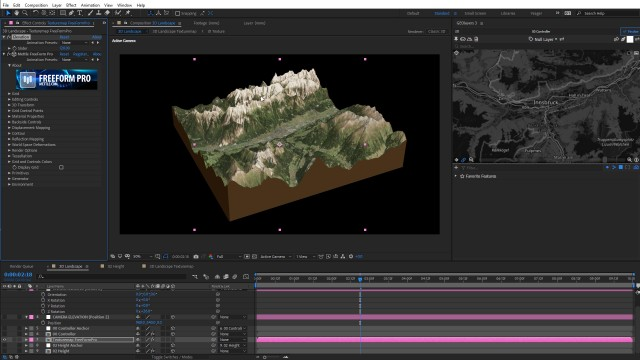 How to Create a 3D Sliced Landscape   GEOlayers 3 + FreeForm Pro