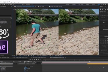Part 2: Advanced Object Removal from 360 Footage | After Effects | Skybox Studio V2