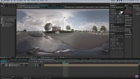 3D Camera Tracking 360 footage in After Effects | SkyBox Studio