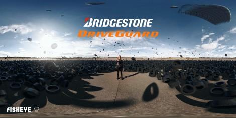 Bridgestone Driveguard 360 Video   FisheyeVR   SkyBox Studio
