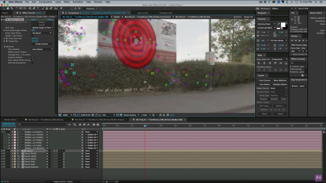 How to 3D Camera Track 360 Footage in After Effects | SkyBox Studio