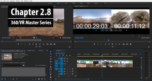 Chapter 2.8: 360° Trimming Basics in Premiere Pro - Part 2