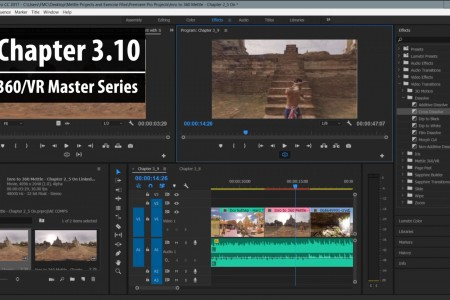 Chapter 3.10: Sending Your Clip Back To Premiere Pro | 360/VR Master Series