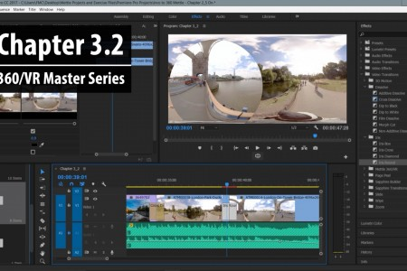 Chapter 3.2: 2D vs. 360 Transitions in Premiere Pro | 360/VR Master Series