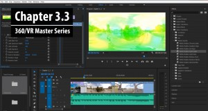 Chapter 3.3: Working with Mettle SkyBox 360/VR Transitions for Premiere Pro