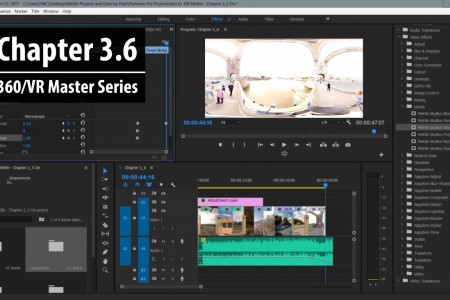 Chapter 3.6: Working with 360 Post FX in SkyBox 360/VR Tools in Premiere Pro | 360/VR Master Series
