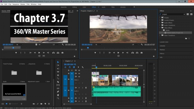 Chapter 3.7: Working With SkyBox 360/VR Tools for text and graphics | 360/VR Master Series