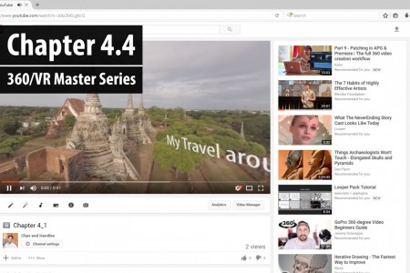 Chapter 4.4: Viewing the Final Uploaded 360 video | 360/VR Master Series
