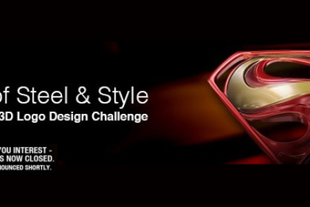 Man of Steel & Style – Superman 3D Logo Design Challenge