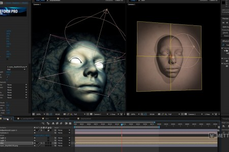 Create a Displacement Map in C4D To Use in After Effects with FreeForm Pro