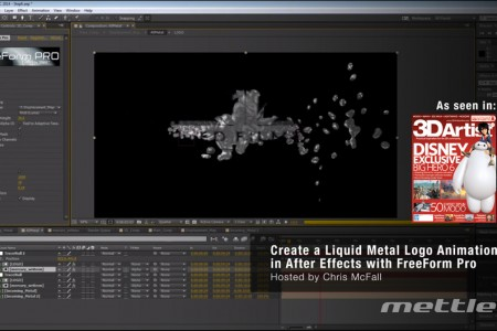 Create a Liquid Metal Logo in Ae