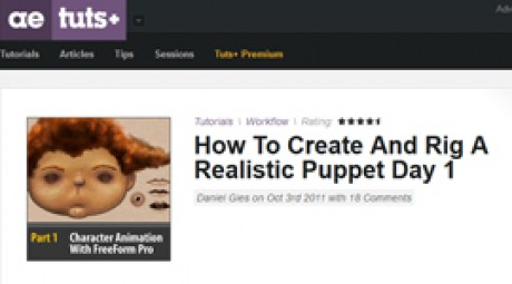Create and Rig a Realistic Puppet: Day 1
