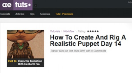 Create and Rig a Realistic Puppet: Day 14